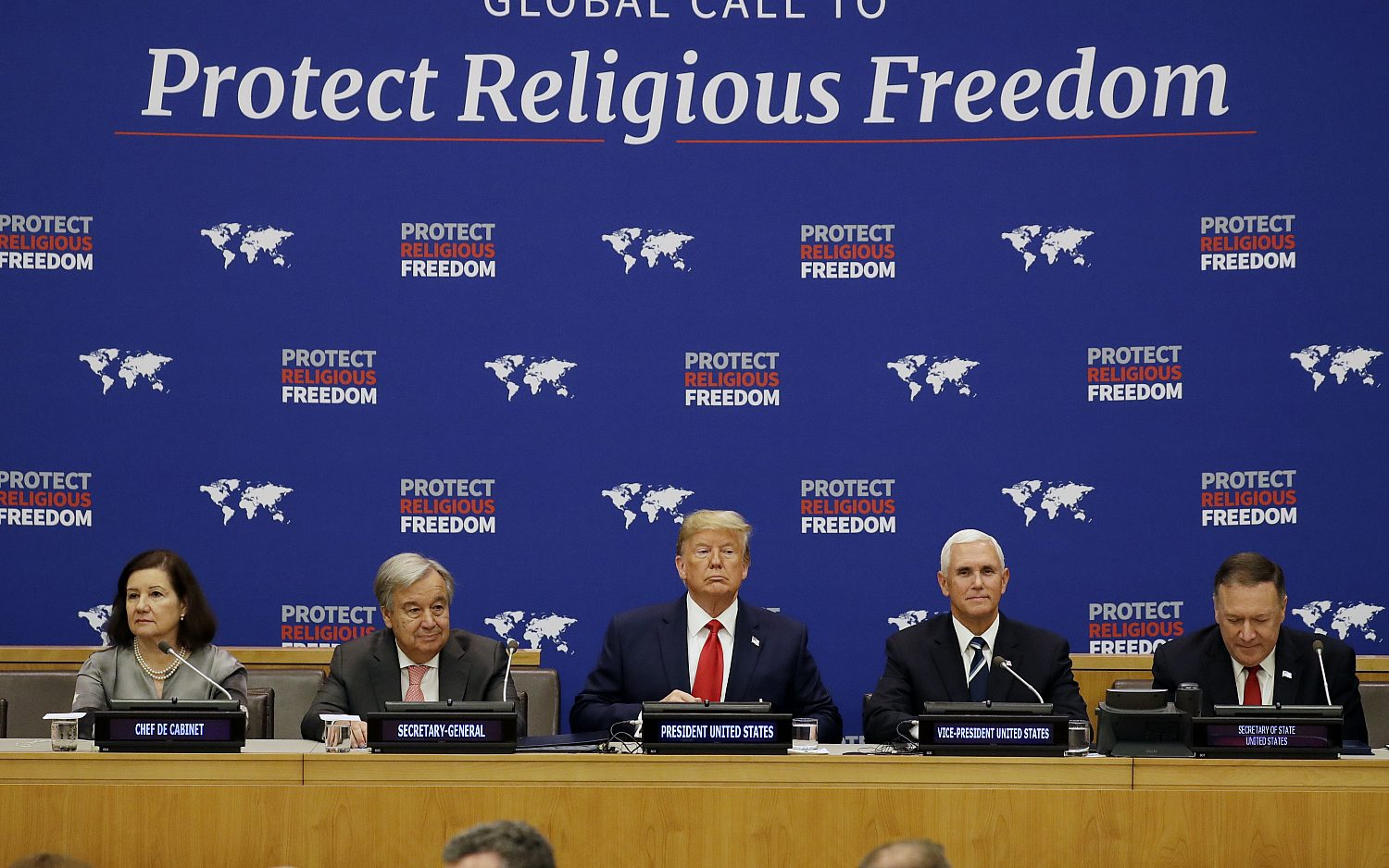 Trump tackles religious persecution
