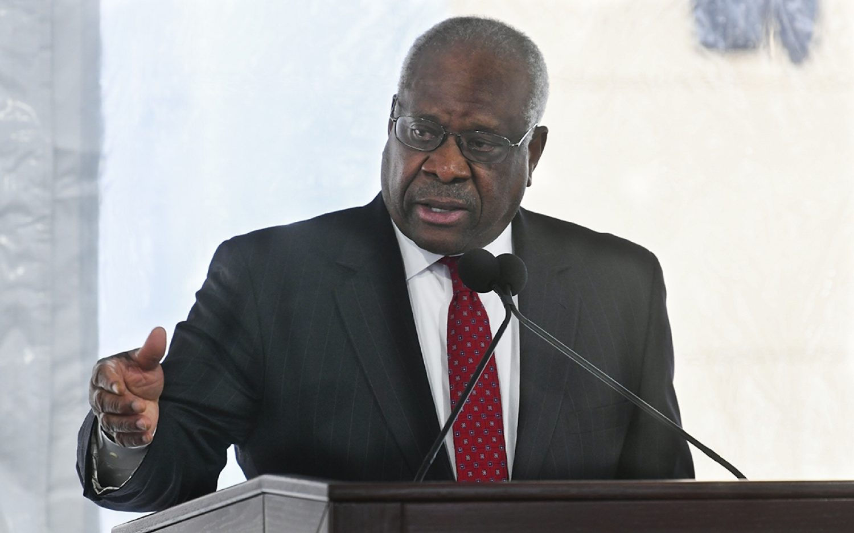 Clarence Thomas sounds alarm over Big Tech power