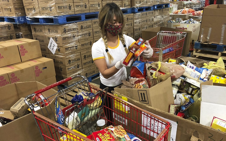 Pandemic still challenging food pantries