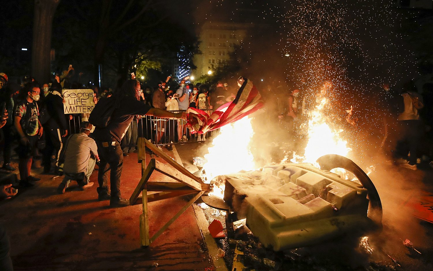 Protests continue across the U.S.