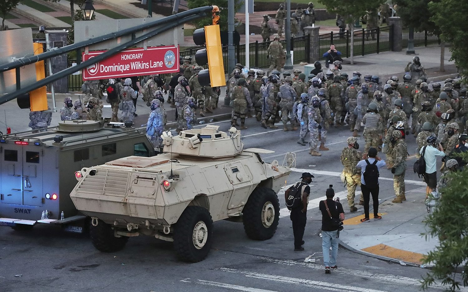 Officials clash over use of troops