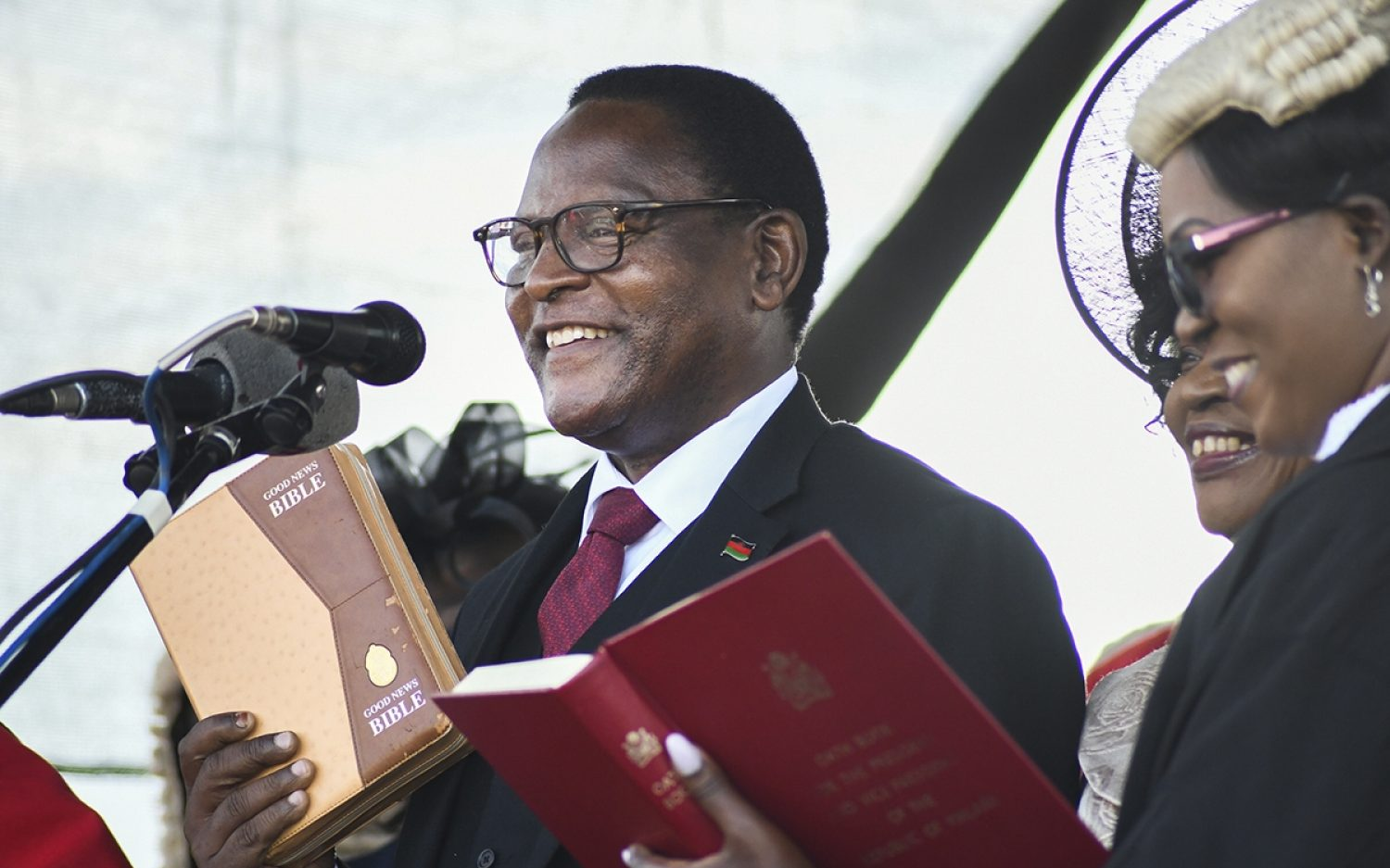 Malawi's new leader trained in church