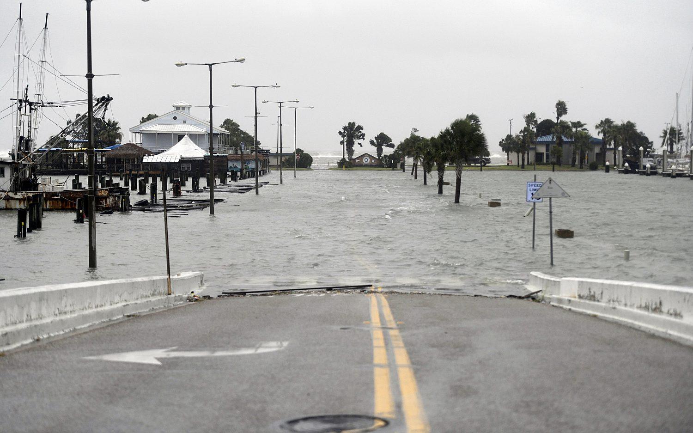 Hurricane Hanna hits South Texas