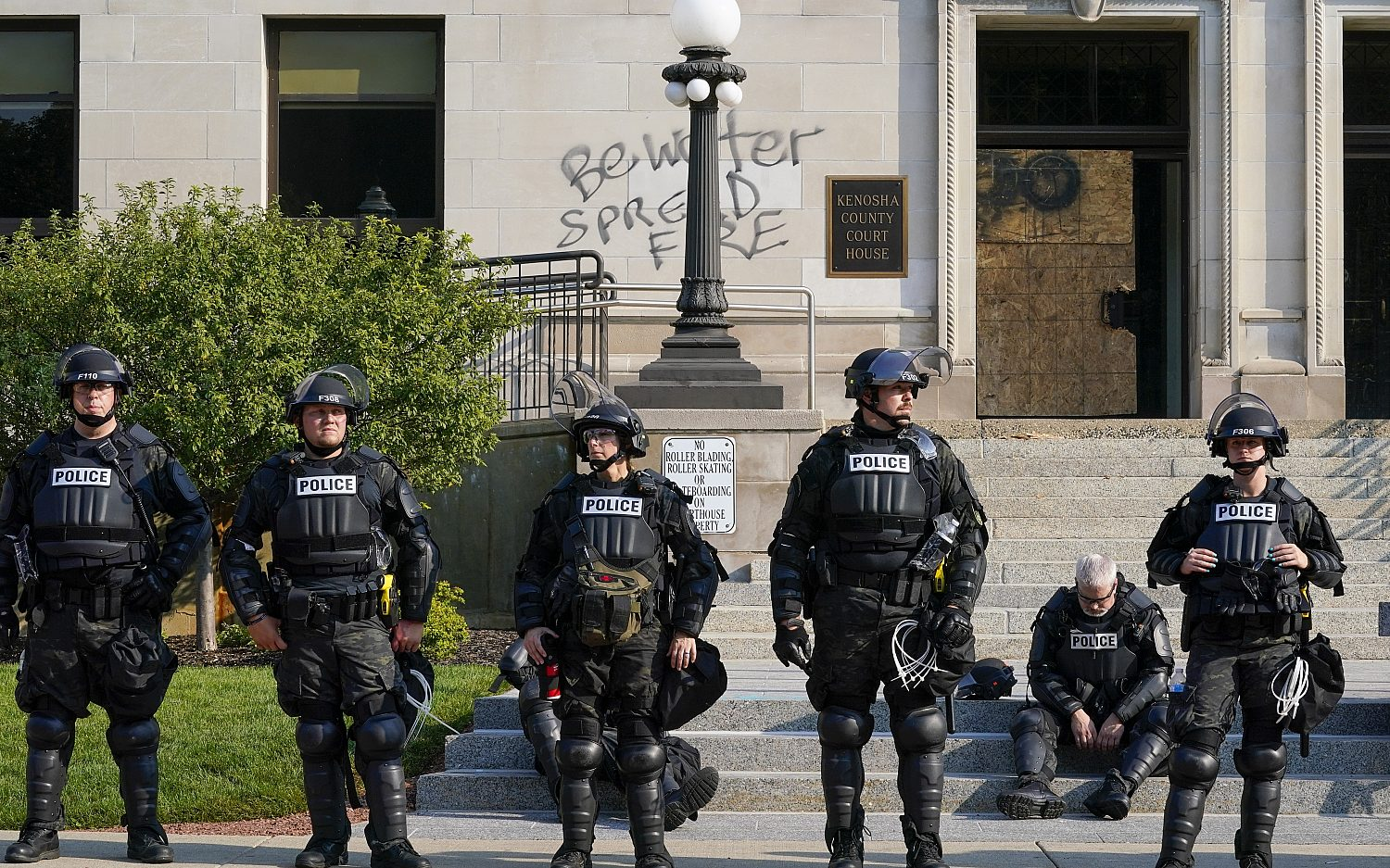 Protests erupt in Wisconsin after police shooting