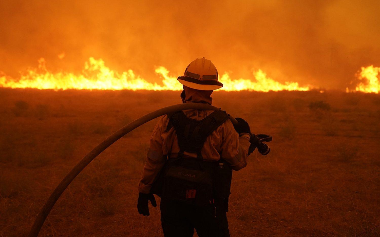 West Coast fires heat up climate debate