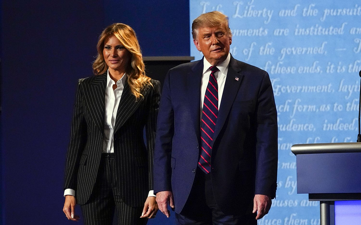 Trump, first lady test positive for COVID