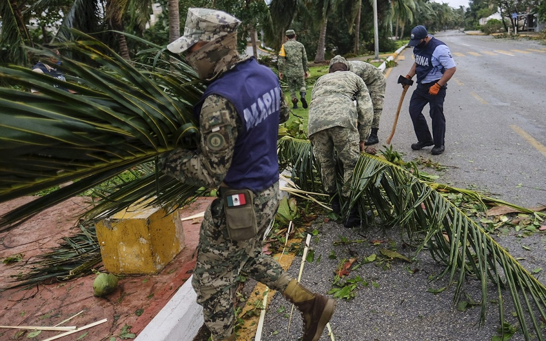 Hurricane Delta enters Gulf of Mexico