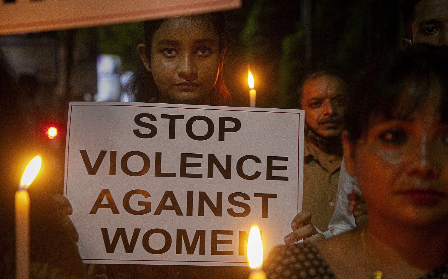 Indians protest child's rape and murder