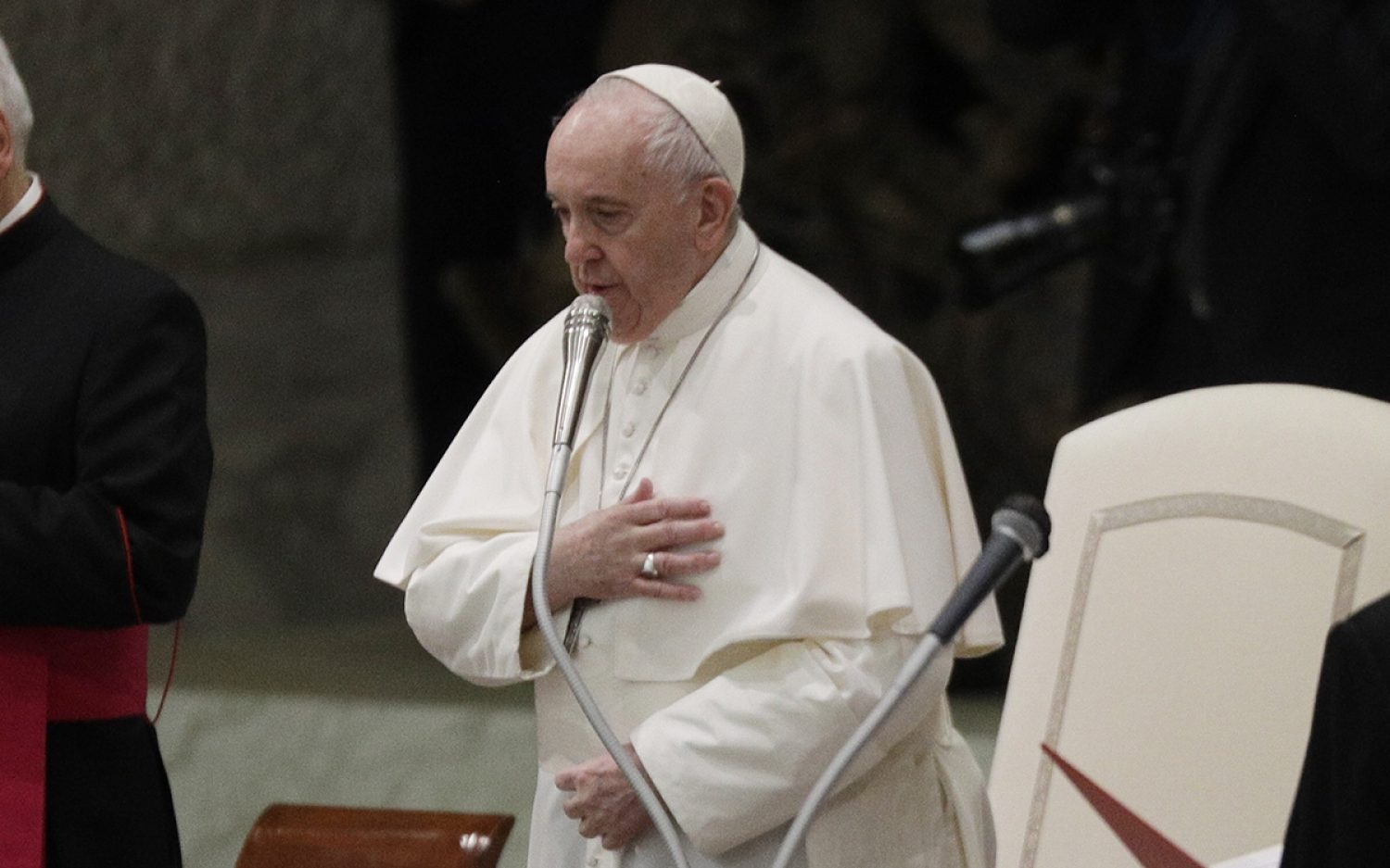 Pope reiterates support for civil unions