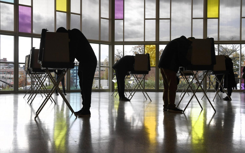 Election Day building blocs
