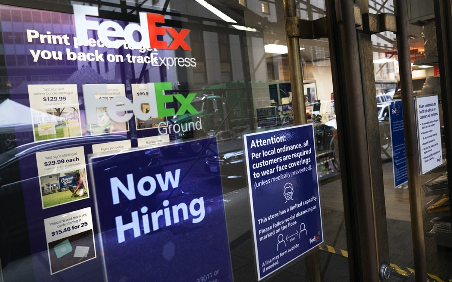 Joblessness numbers show improvement