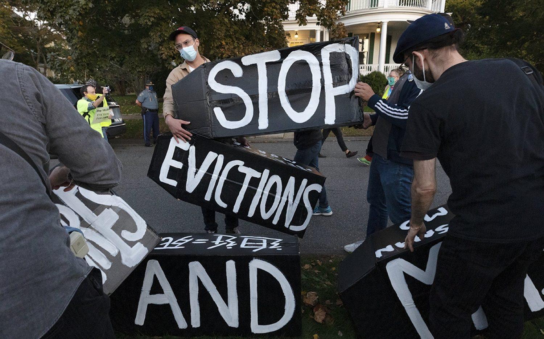 Eviction bans tee up long-term housing crisis
