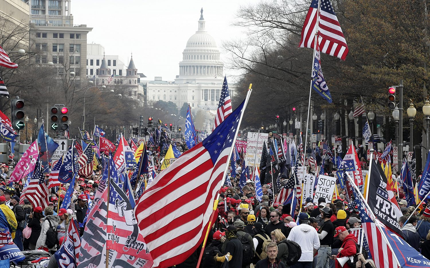 Trump supporters hold Jericho March in Washington