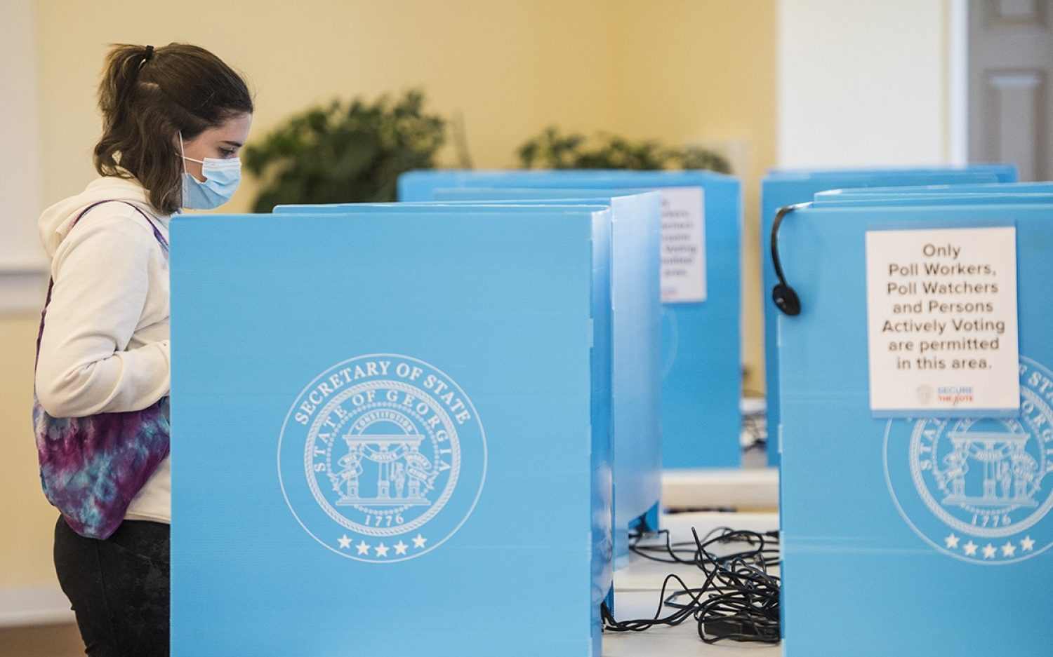 Georgia holds highly anticipated vote