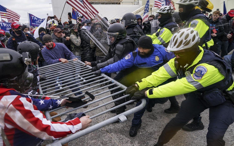 PHOTOS: Mobs overrun the Capitol