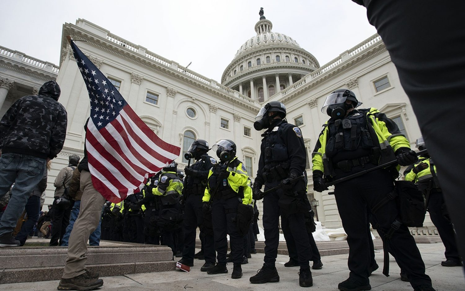 Police explain what went wrong at the Capitol