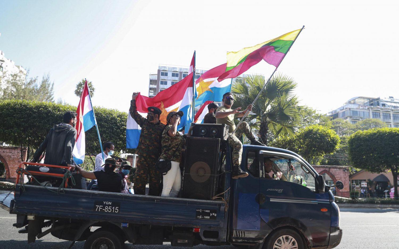 Myanmar's retaking