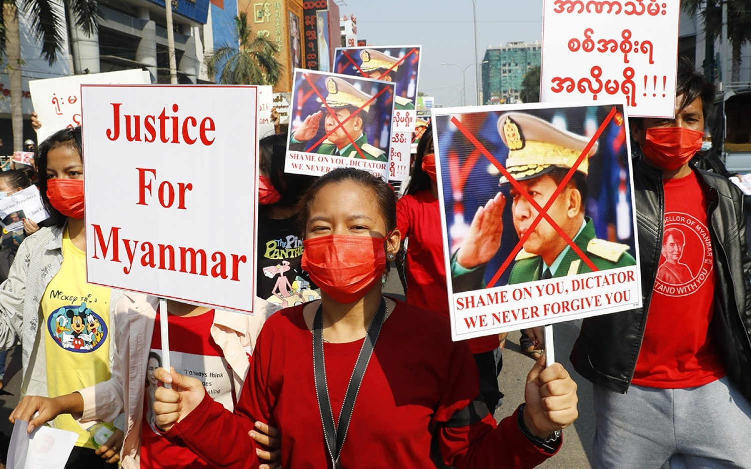 Myanmar military cracks down on rising protests