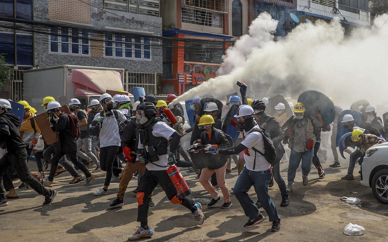 Violence against protesters intensifies in Myanmar
