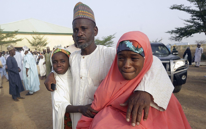 Abducted Nigerian schoolgirls return home