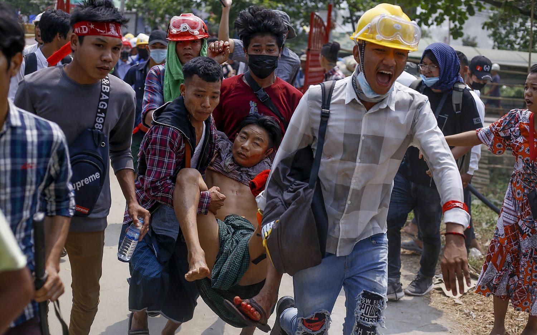 Myanmar military imposes martial law in parts of Yangon