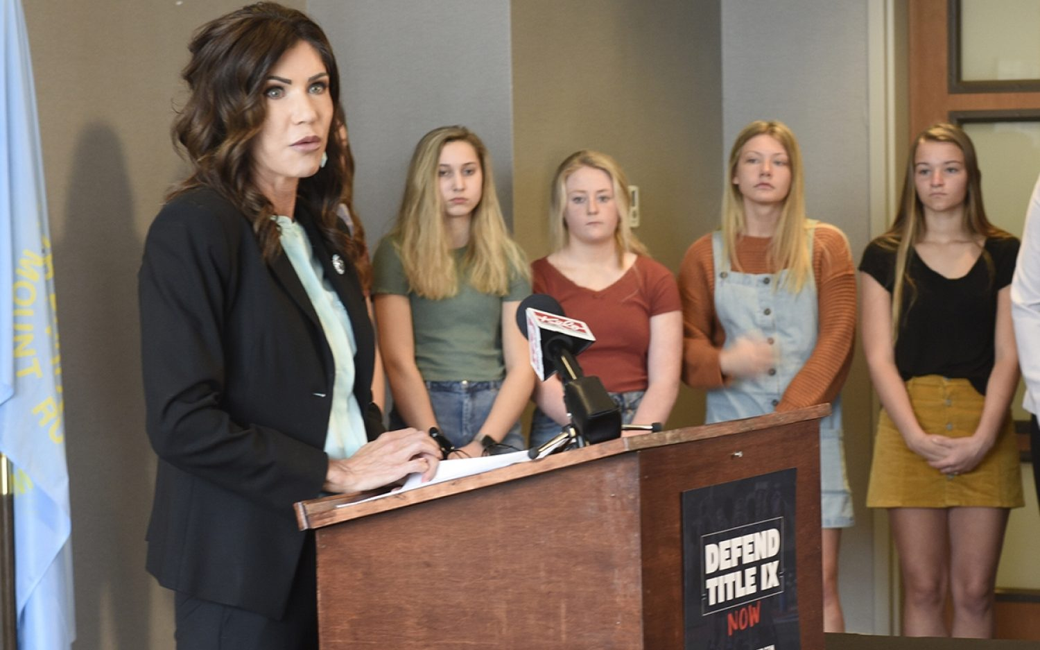 Noem looks for squishy compromise on women's sports