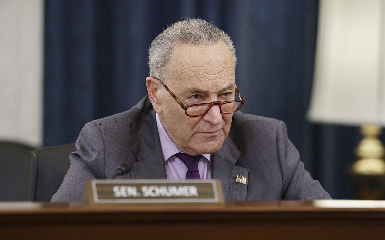 Senate leaders clash over election bill