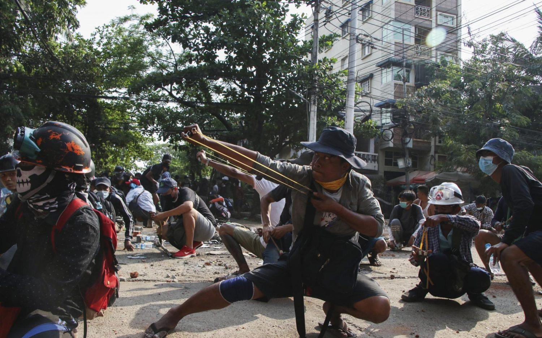 A growing revolt in Myanmar