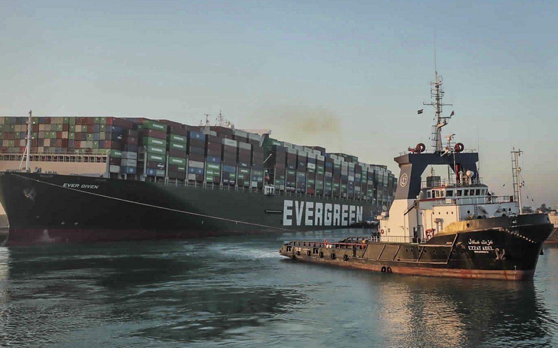 Suez Canal open again