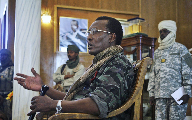 Chadian president dies on battlefield