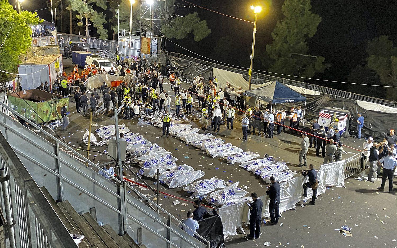 Dozens dead in Israeli stampede