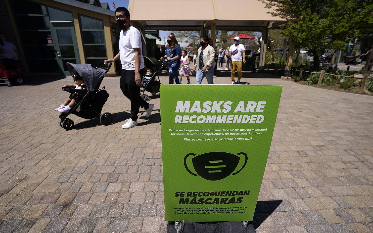 States reorient to new mask guidance