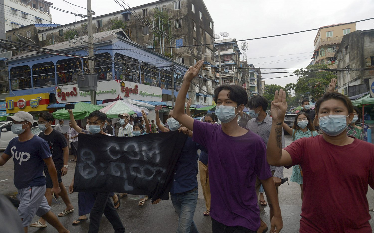 In Myanmar, prospect of hunger and civil war