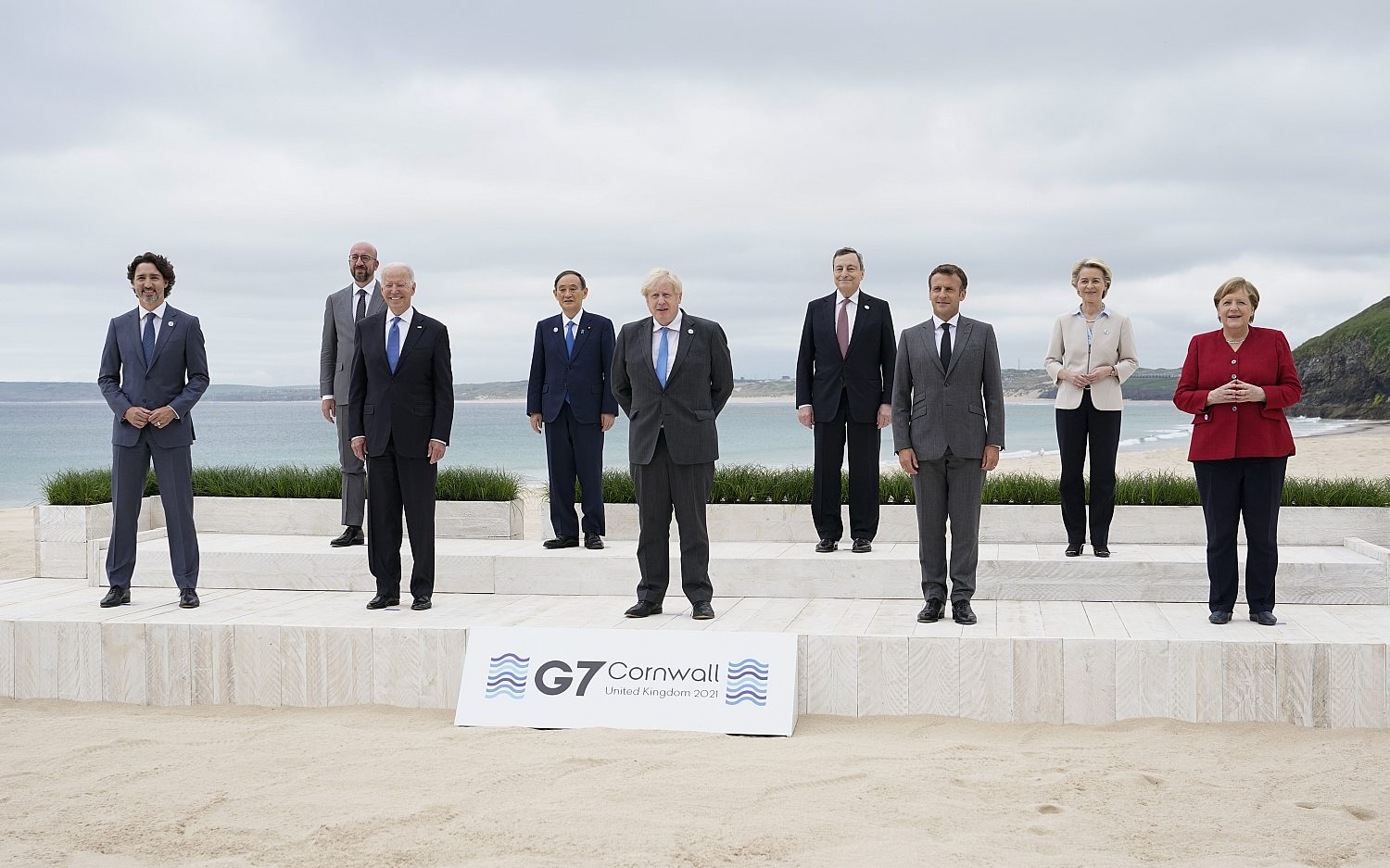 G-7 leaders agree on vaccines, countering China