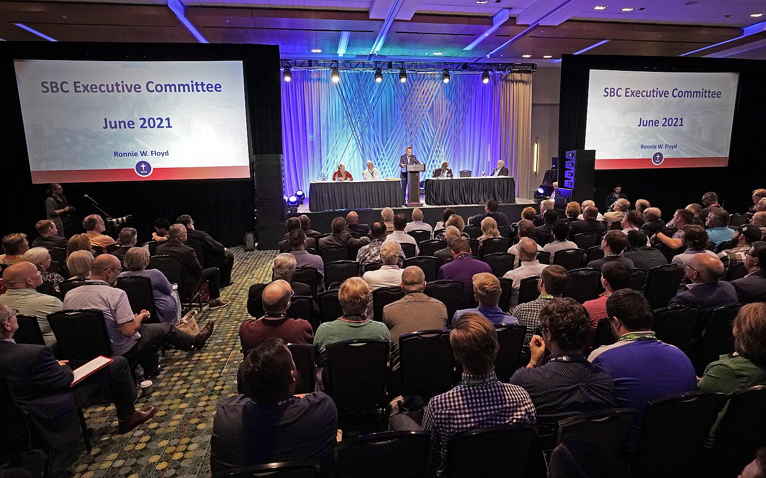SBC leaders approve more openness in abuse investigation