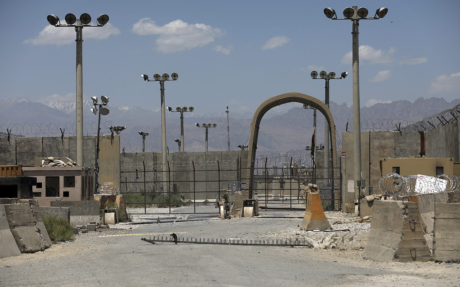 U.S. exits Afghanistan's Bagram Airfield after two decades