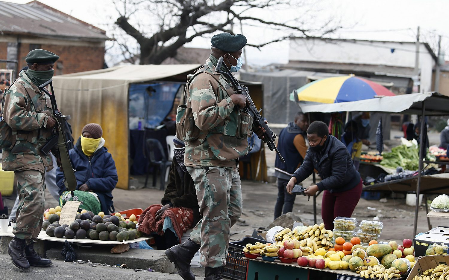 South Africa scales up security presence