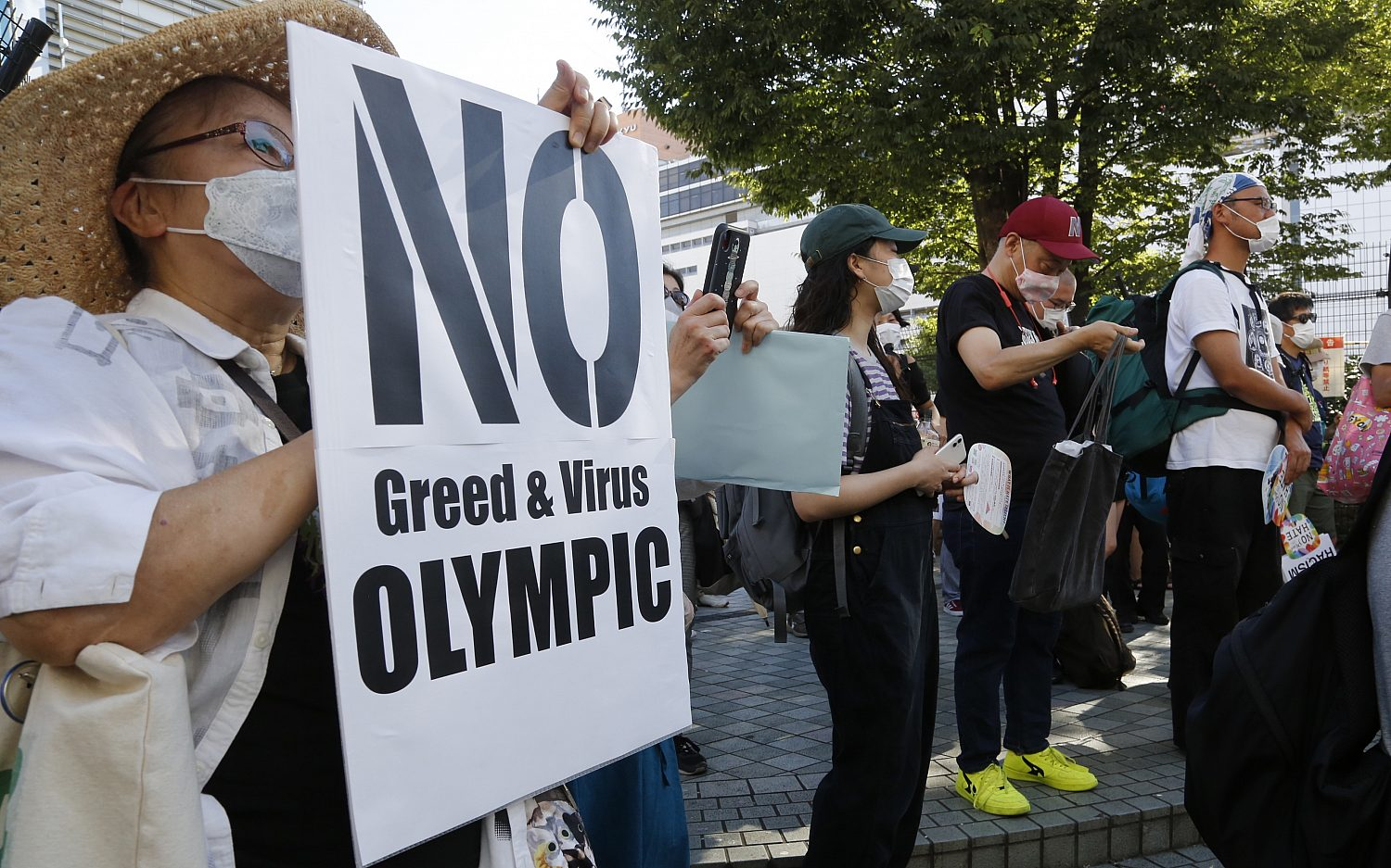 Athletes test positive for Covid-19 inside Olympic Village