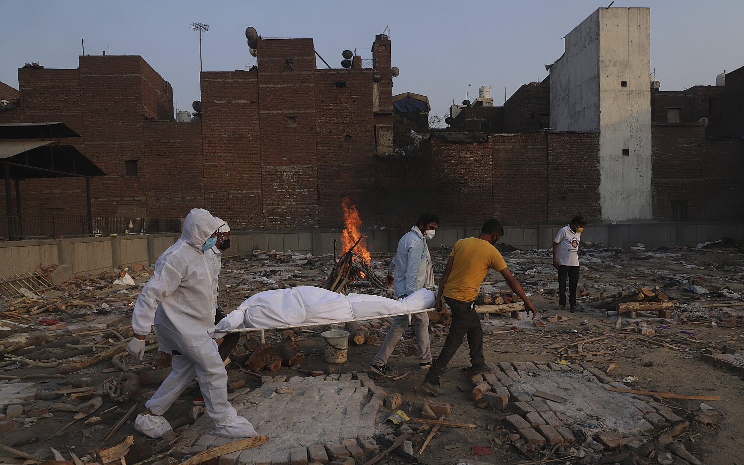 Study: Indian pandemic deaths vastly underreported