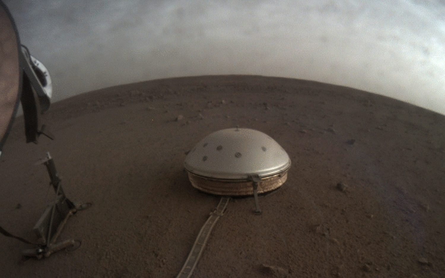Insight into the inside of Mars
