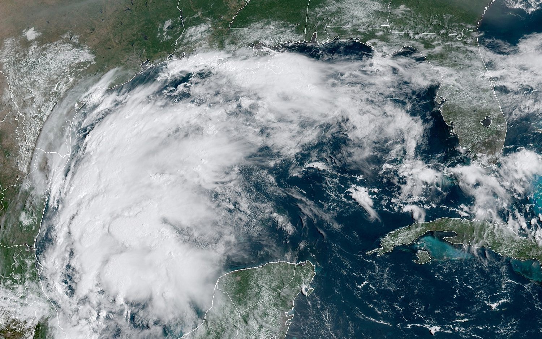 Tropical Storm Nicholas heads for Gulf Coast