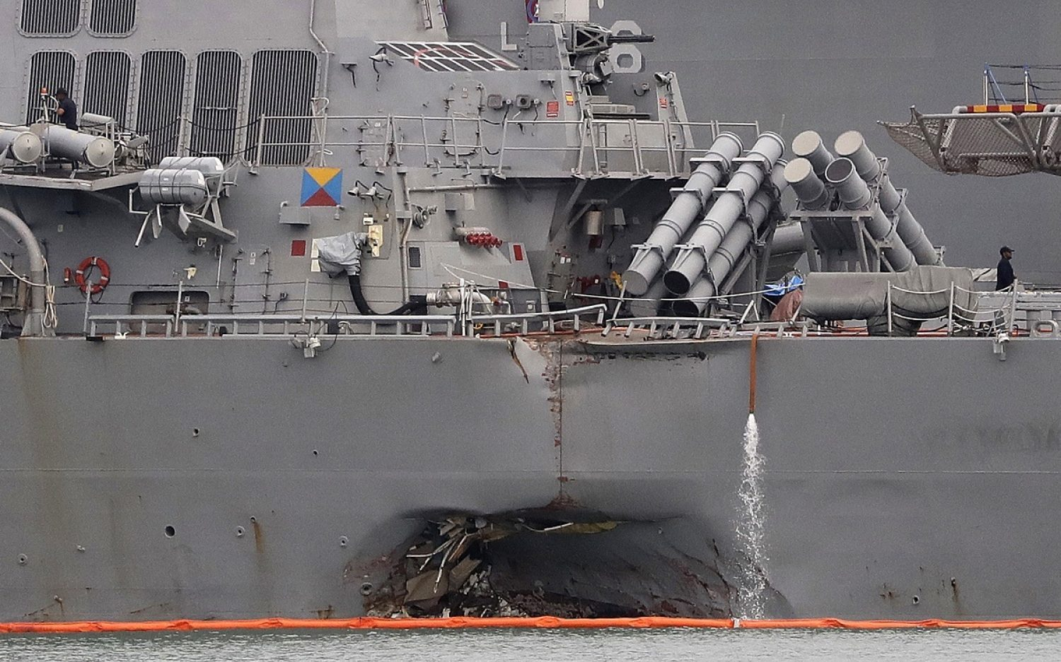 7th Fleet commander fired after series of fatal accidents