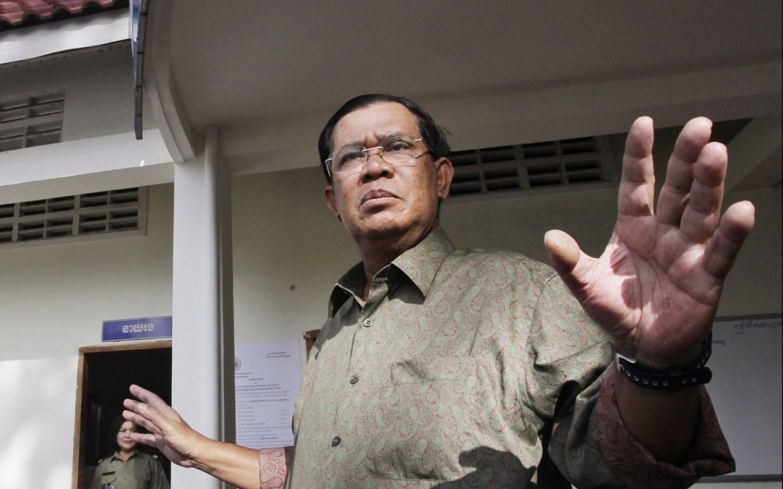 Cambodia reverses plan to expel U.S. charity
