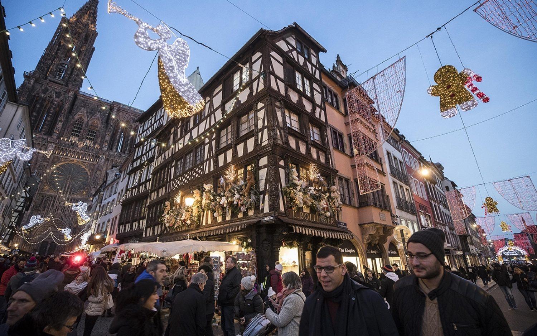Holiday cheer, terror fears
