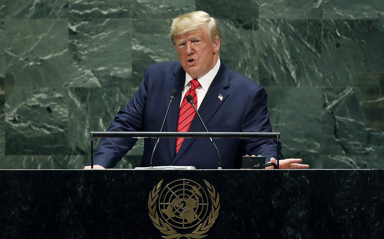 Trump defends 'America first' at the UN