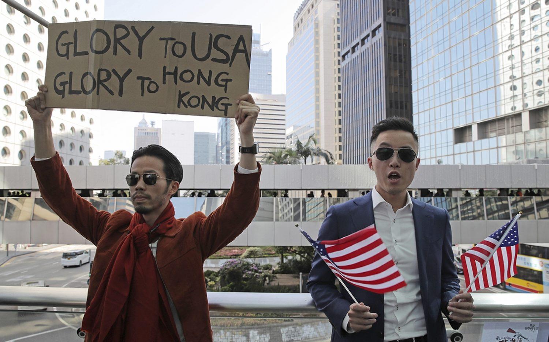 Hong Kong protesters welcome U.S. legislation
