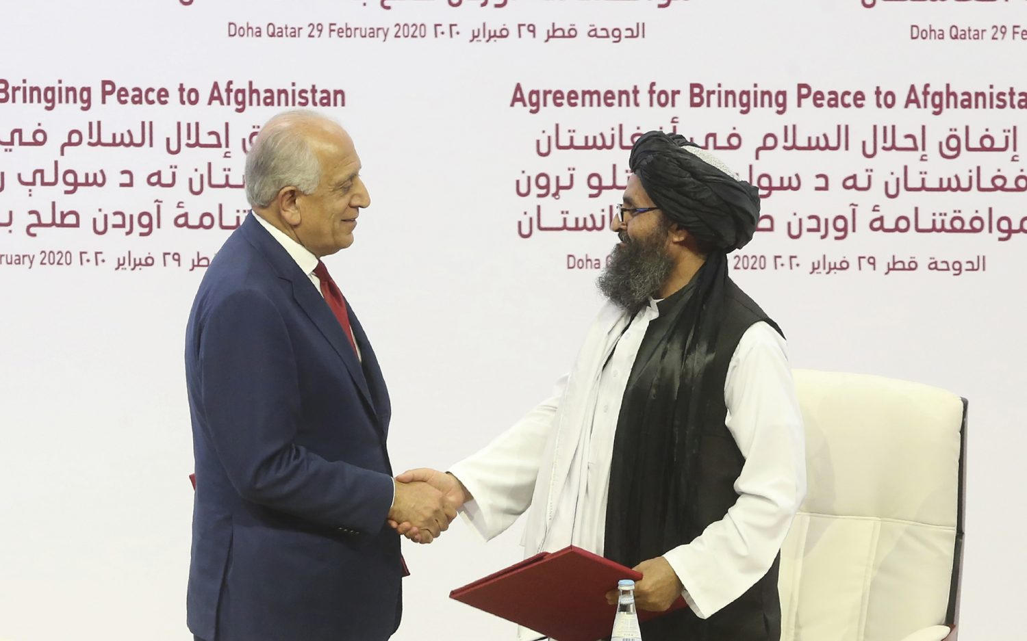 Taliban recruits from old guard for interim government