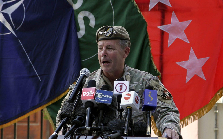 Top U.S. general in Afghanistan steps aside