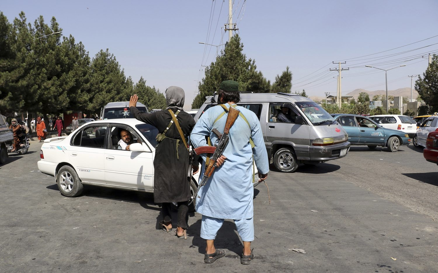 Forces in Kabul on high alert
