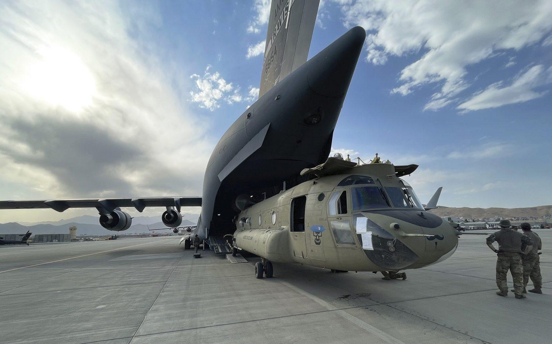 Last U.S. soldiers leave Afghanistan